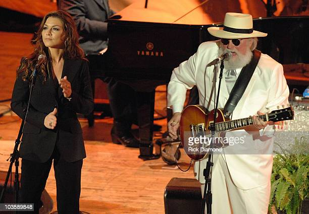 Singer Songwriter Gretchen Wilson and Singer/Songwriter Charlie Daniels play live at The Ryman Auditorium for 45th Annual ASCAP Country Music Awards...