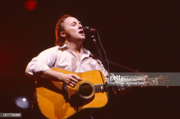 Singer songwriter, guitarist, and musician Stephen Stills performs with his backup band, The California Blues Band, in July at the Wollman Skating...