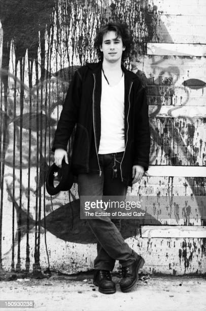 Singer songwriter Jeff Buckley poses for a portrait in May 1994 in New York City New York