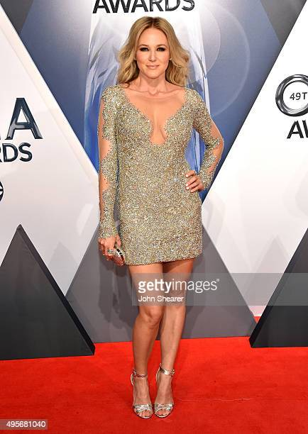 Singer songwriter Jewel attends the 49th annual CMA Awards at the Bridgestone Arena on November 4 2015 in Nashville Tennessee