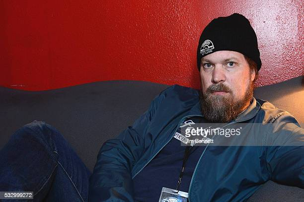 Singer songwriter John Grant poses for a portrait backstage at The Showbox on May 19 2016 in Seattle Washington