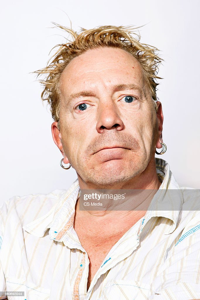 John Lydon, Portrait shoot, September 11, 2011