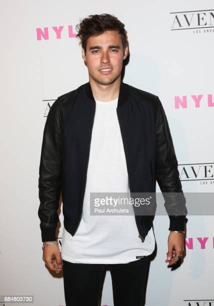 Singer / Songwriter Jorge Blanco attends NYLON's annual Young Hollywood May issue event with cover Star Rowan Blanchard at Avenue on May 2 2017 in...