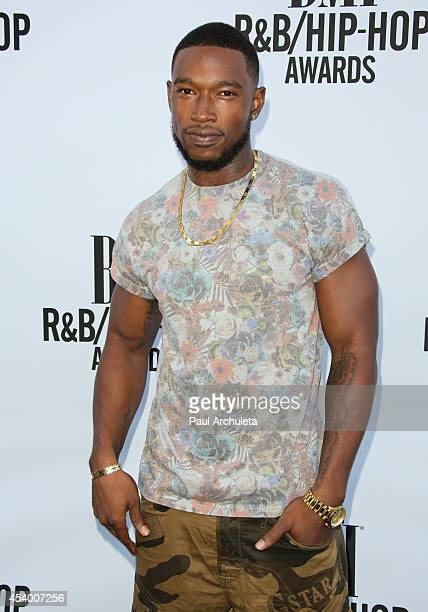 Singer / Songwriter Kevin McCall attends the 2014 BMI RB/HipHop Awards at the Pantages Theatre on August 22 2014 in Hollywood California