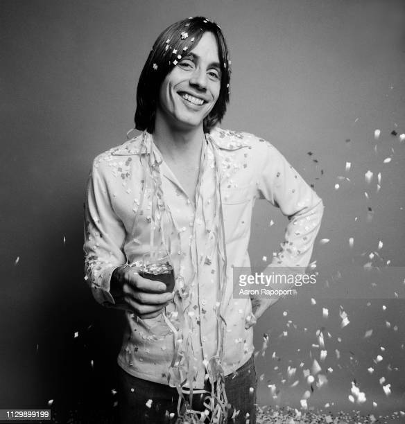 Singer songwriter legend Jackson Browne poses for a New Years portrait in December 1978 in Los Angeles California
