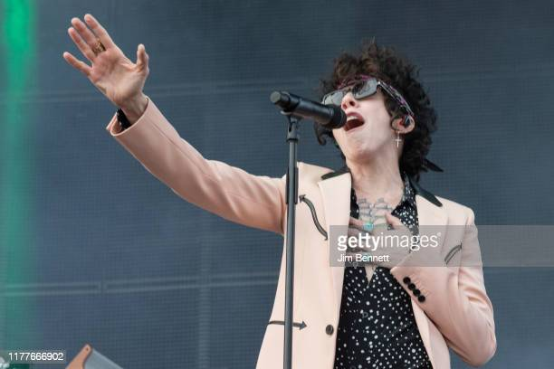 Singer songwriter LP performs live on stage during Ohana Festival at Doheny State Beach on September 27, 2019 in Dana Point, California.