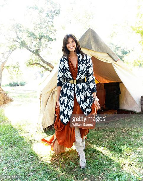 Singer songwriter Mandy Moore is photographed for Oprah magazine on August 8 2010 in Virginia Illinois