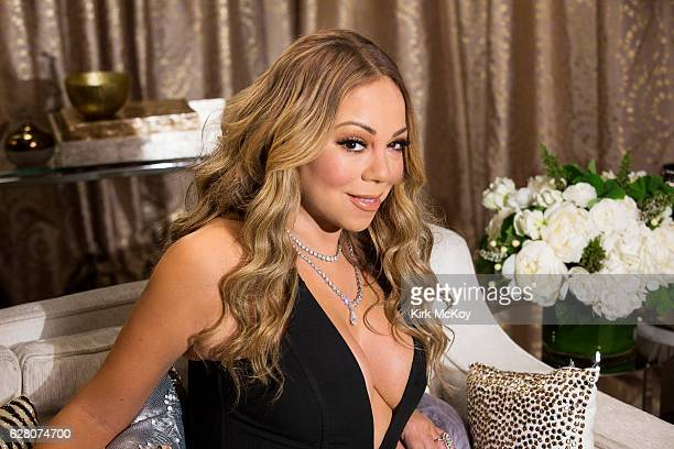 Singer songwriter Mariah Carey is photographed for Los Angeles Times on November 21 2016 in Los Angeles California PUBLISHED IMAGE CREDIT MUST READ...