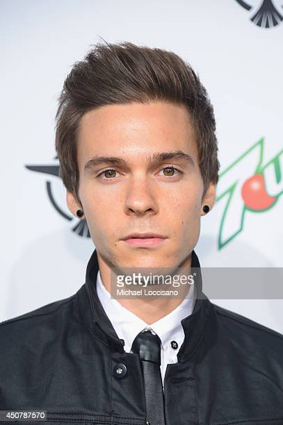 Singer, songwriter Matthew Koma attends 7UP Presents Tiesto's 'A Town Called Paradise' album release celebration, at Terminal 5 on June 17, 2014 in...
