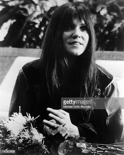 Singer songwriter Melanie poses for a Neighborhood Records publicity photo circa 1972 in New York City New York