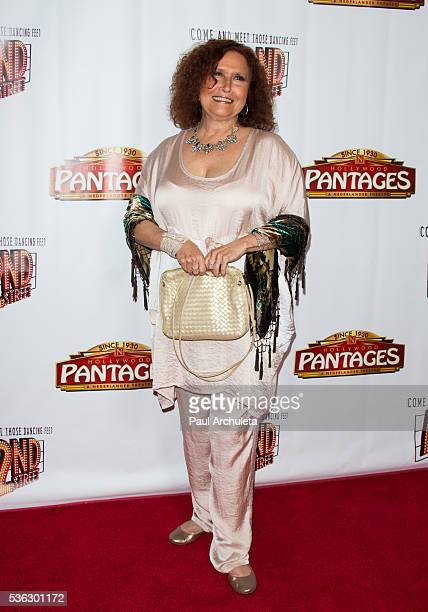 Singer / Songwriter Melissa Manchester attends the opening night of '42nd Street' at the Pantages Theatre on May 31 2016 in Hollywood California