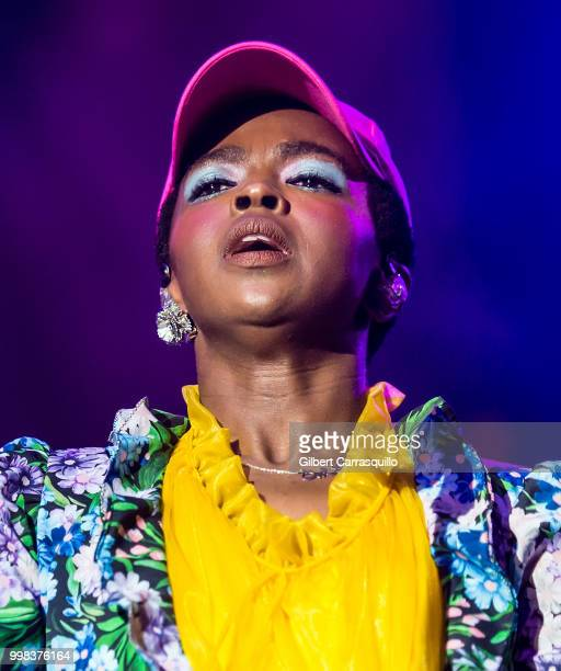 Singer songwriter Ms Lauryn Hill performs during The Miseducation of Lauryn Hill 20th Anniversary Tour on July 13 2018 in Philadelphia Pennsylvania