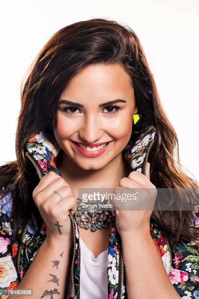 Singer songwriter musician and actor Demi Lovato is photographed for Bliss magazine on February 21 2013 in London England
