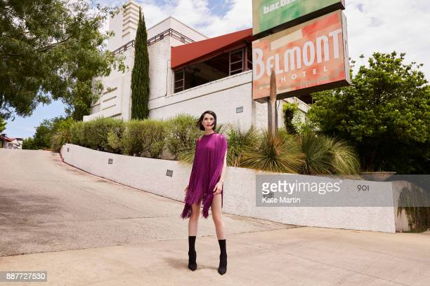 Singer songwriter musician StVincent aka Anne Erin is photographed for High Life magazine on May 21 2017 in Dallas Texas