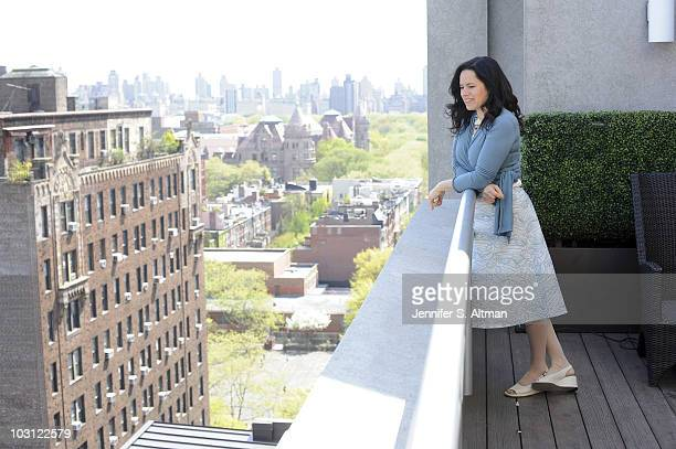 Singer/ songwriter Natalie Merchant poses at a portrait session for The Los Angeles Times in New York NY on April 13 2010