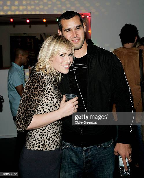 Singer songwriter Natasha Bedingfield and her boyfriend Matt attend the launch party for Mark Ronson's new album Version due for release on April 16...