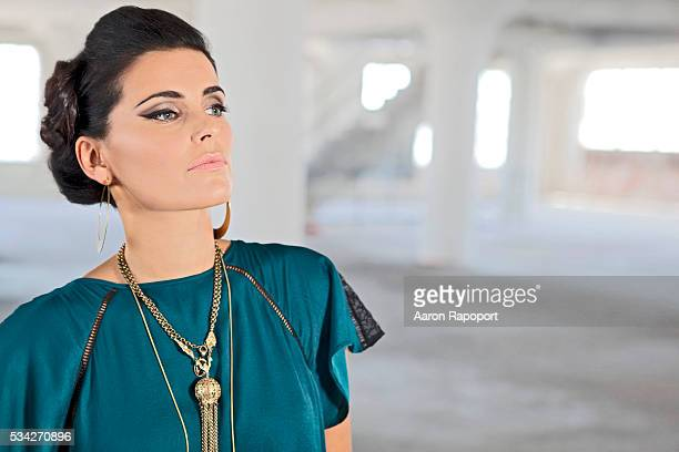 Singer songwriter Nelly Furtado shot on her music video set in Los Angeles in 2008