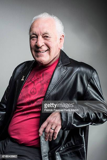 Singer songwriter pianist and founder of the rock band Procol Harum Gary Brooker is photographed for Paris Match on March 25 2014 in NoisyleGrand...