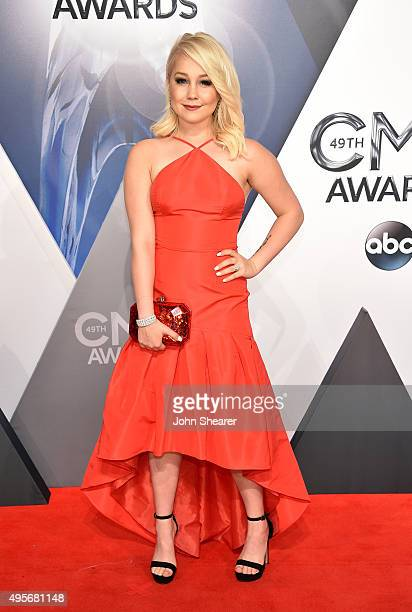 Singer songwriter RaeLynn attends the 49th annual CMA Awards at the Bridgestone Arena on November 4 2015 in Nashville Tennessee