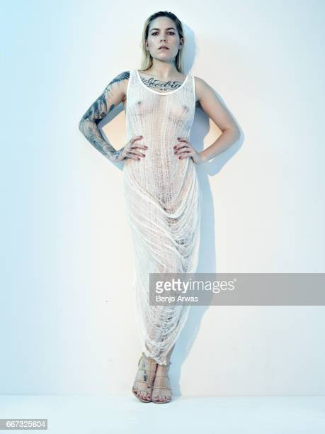 Singer songwriter Skylar Grey is photographed for Composure Magazine on December 7 2016 in Los Angeles California