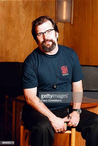 Singer Songwriter Steve Earle posed in Utrecht, Holland on May 31 2000