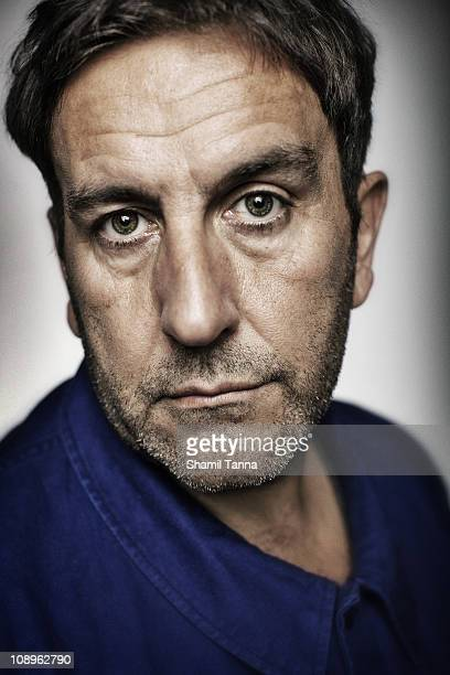 Singer songwriter Terry Hall of the Specials poses for a portrait shoot in London on October 20 2009
