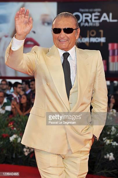 Singer songwriter Tony Renis attends the Il Villaggio Di Cartone premiere during 68th Venice Film Festival at Palazzo del Cinema on September 6 2011...