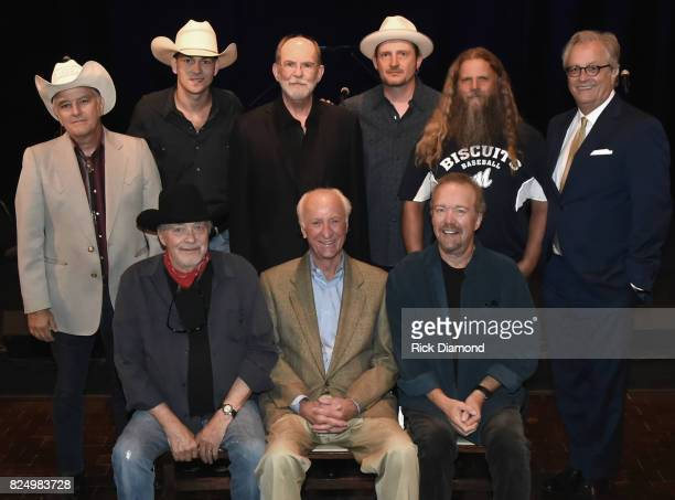 Singer Songwriters Front row Bobby Bare Bob McDill and Don Schlitz Back row Jon Byrd William Michael Morgan Producer/Songwriter Allen Reynolds...
