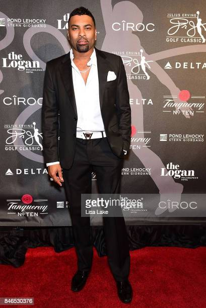 Singer Songwritwe Ginuwine attends the Erving Golf Classic Black Tie Ball sponsored by Delta Airlines Pond LeHocky Law with cocktails presented by...