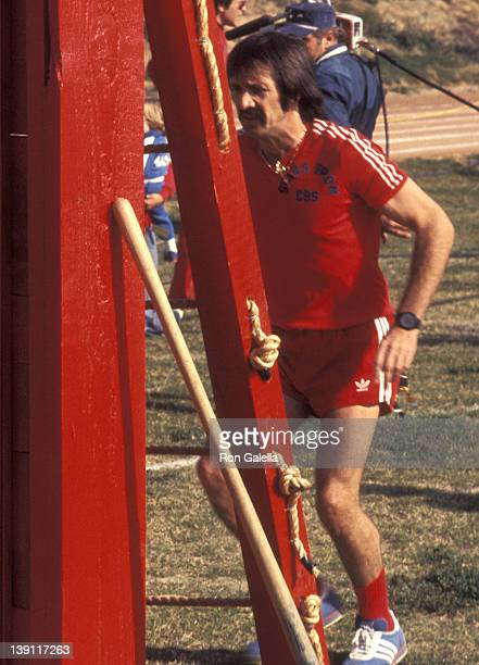 Singer Sonny Bono participates in the 'Battle of the Network Stars II' Television Competition Special on February 5 1977 at Pepperdine University in...