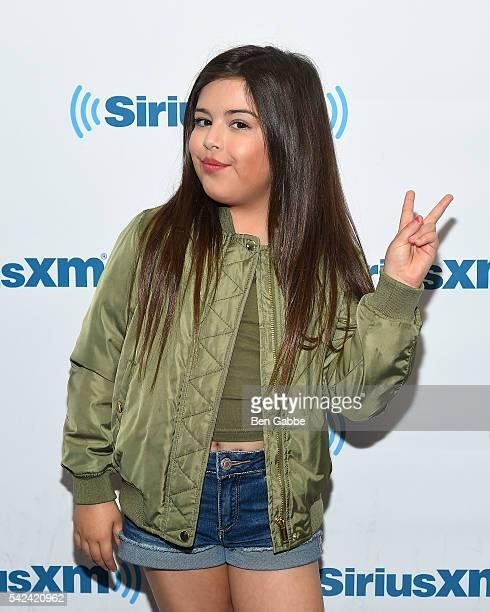 Singer Sophia Grace visits at SiriusXM Studios on June 23 2016 in New York City