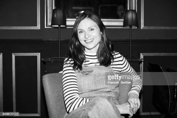Singer Sophie Ellis Bextor is photographed for Self Assignment on September 27 2016 in Paris France