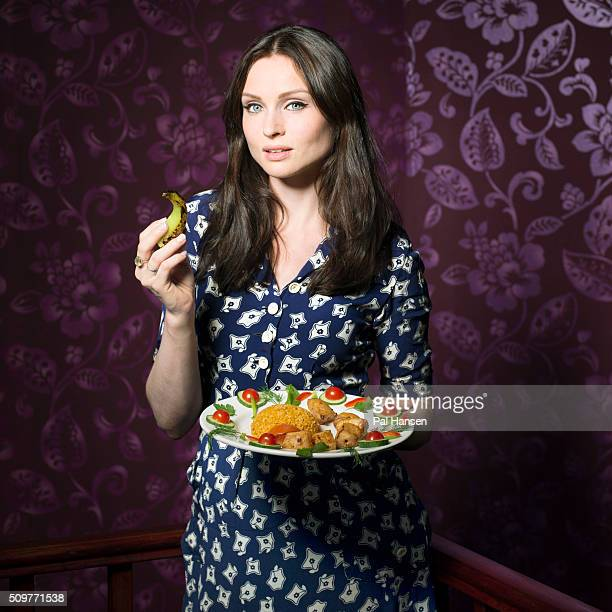 Singer Sophie Ellis Bextor is photographed for the Observer on September 2 2014 in London England