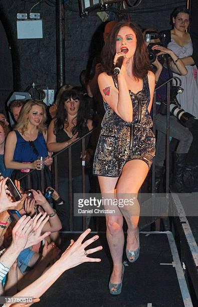 Singer Sophie EllisBextor performs at GAY at Heaven nightclub on May 2 2010 in London England