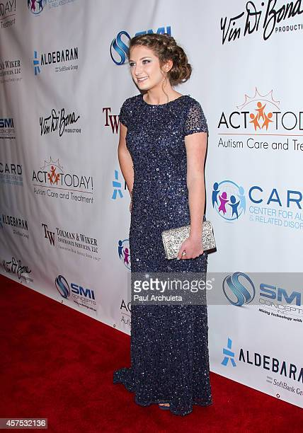 Singer Sophie Rose attends the 9th annual Denim Diamonds for Autism on October 19 2014 in Westlake Village California