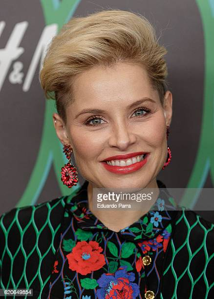 Singer Soraya Arnelas attends the Kenzo X HM photocall at HM store on November 2 2016 in Madrid Spain