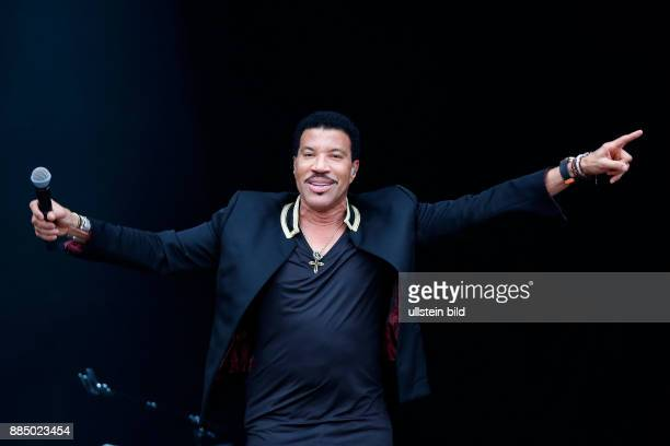 LIONEL RICHIE Singer Soul USA performs on July 17 at Zitadelle Spandau Berlin Germany