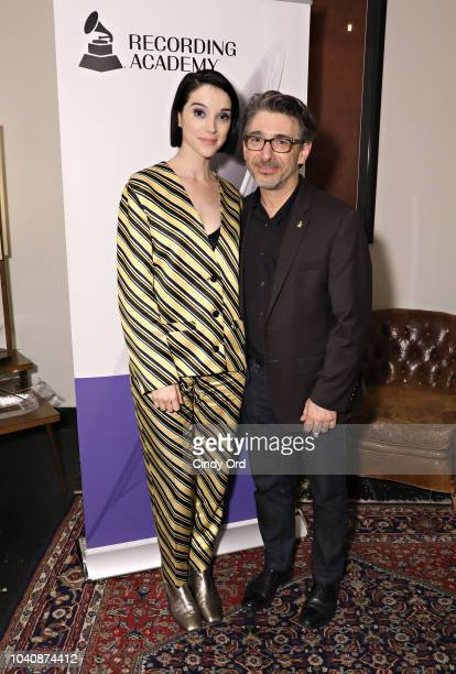 Singer St Vincent and New York Chapter of The Recording Academy Executive Director Nick Cucci attend as The Recording Academy presents a Craft...