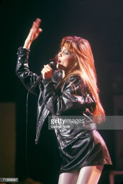 Singer Stacey Q belts out her big hit Two of Hearts during a 1987 performance in Hollywood California Stacey Q was crowned by VH1 as one its...