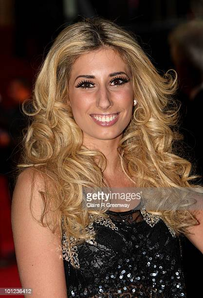 Singer Stacey Solomon arrives at the UK premiere of Sex And The City 2 at Odeon Leicester Square on May 27, 2010 in London, England.