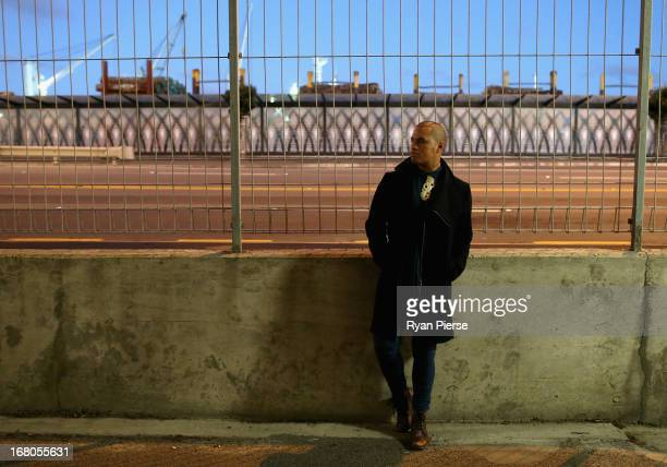 Singer Stan Walker poses during a portrait session on April 25 2013 in Wellington New Zealand