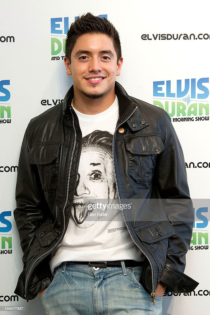 Stefano Visits The Elvis Duran Z100 Morning Show Studios