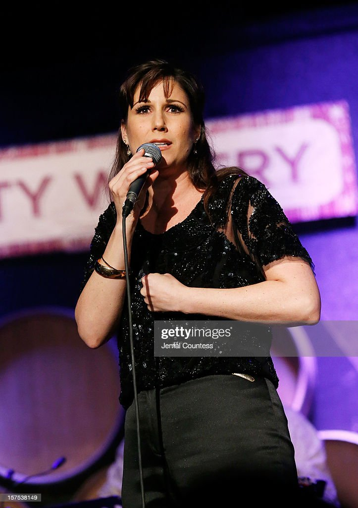 Singer Stephanie Block performs during the 4th Annual African Children's Choir Fundraising Gala at City Winery on December 3, 2012 in New York City.
