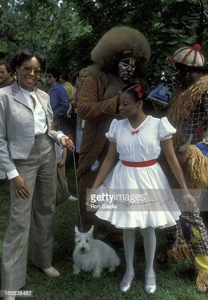 Singer Stephanie Mills attends 21st Annual Hickory Hill Pet Show Benefiting Runaway House on May 19 1979 at Ethel Kennedy Estate in McLean Virginia