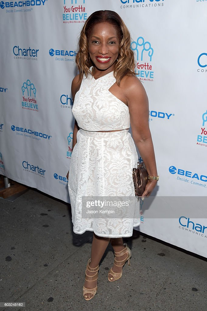 Singer Stephanie Mills attends the 2nd Annual Voices For The Voiceless: Stars For Foster Kids Benefit at the Al Hirschfeld Theatre on September 12, 2016 in New York City.