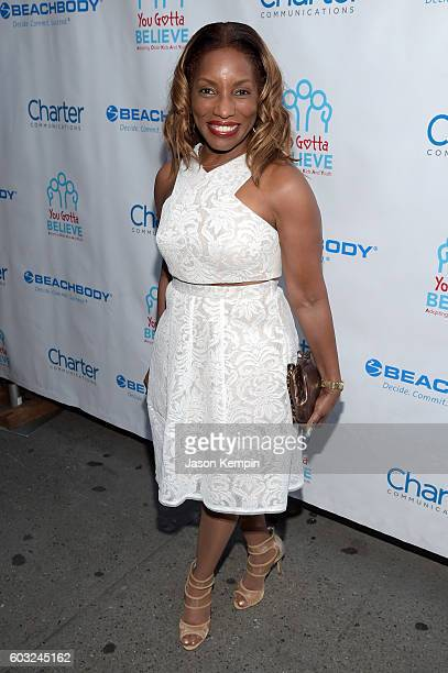 Singer Stephanie Mills attends the 2nd Annual Voices For The Voiceless Stars For Foster Kids Benefit at the Al Hirschfeld Theatre on September 12...