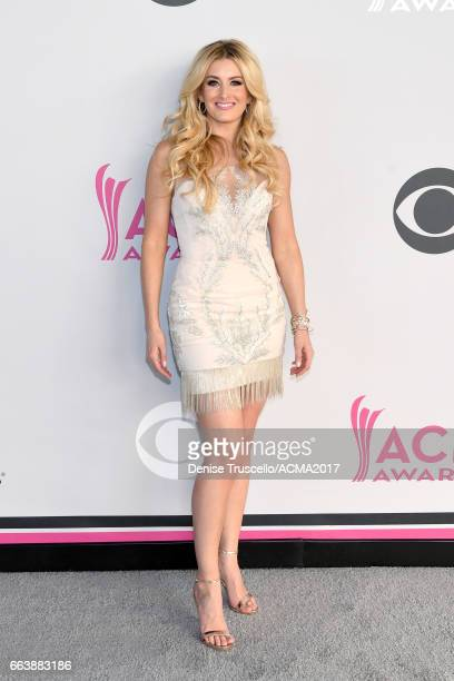 Singer Stephanie Quayle attends the 52nd Academy of Country Music Awards at Toshiba Plaza on April 2 2017 in Las Vegas Nevada