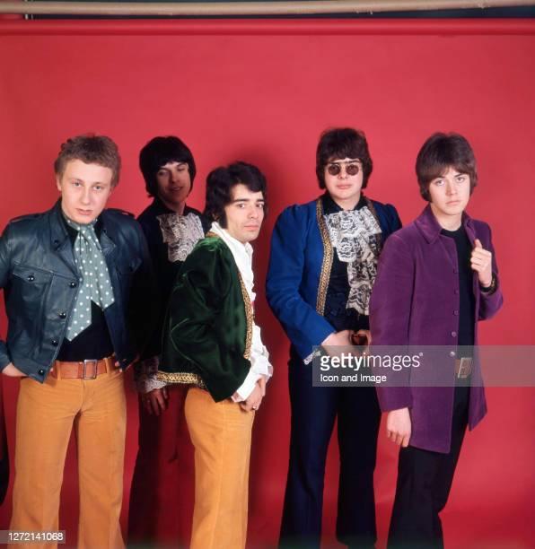 Singer Steve Ellis, keyboardist Lynton Guest, guitar player Rex Brayley, drummer Maurice Bacon and bassist Mick Jackson, all of the British pop group...