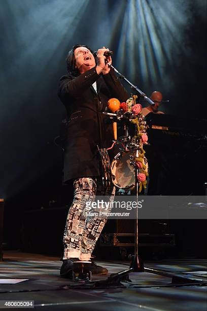 Singer Steve Hogarth of british rock band Marillion performs at the Palladium on December 17 2014 in Cologne Germany
