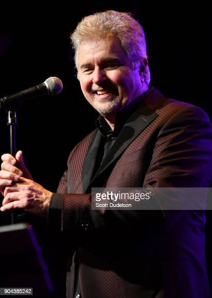 Singer Steve Tyrell performs onstage at The Canyon Club on January 12 2018 in Agoura Hills California